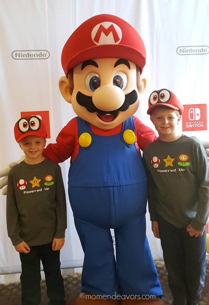 DIY Mario Nintendo Shirts