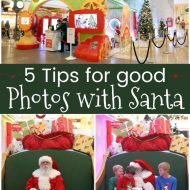 5 Tips for Good Photos with Santa