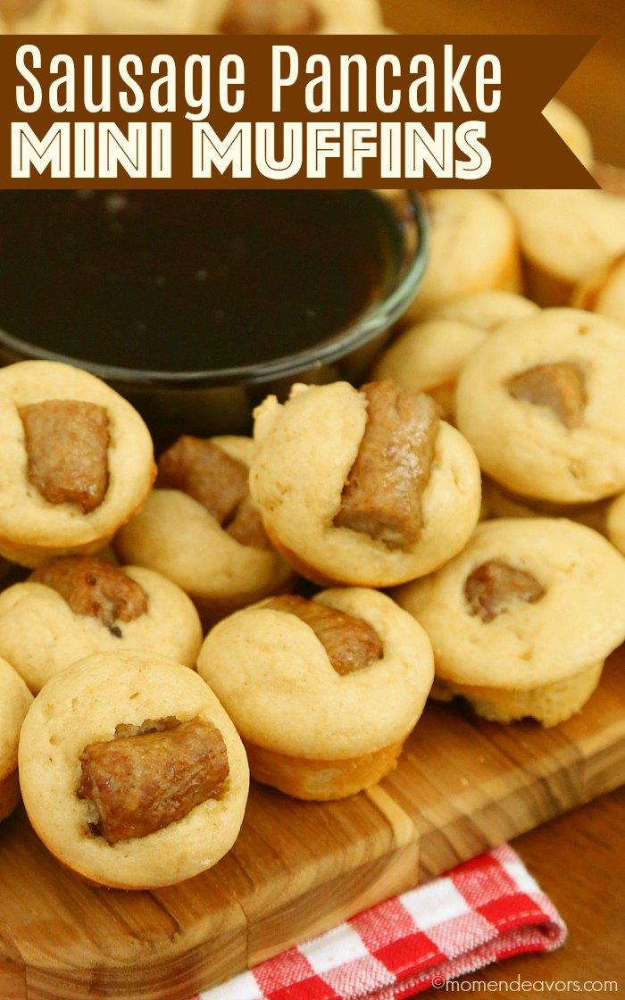 Sausage Pancake Mini Muffins