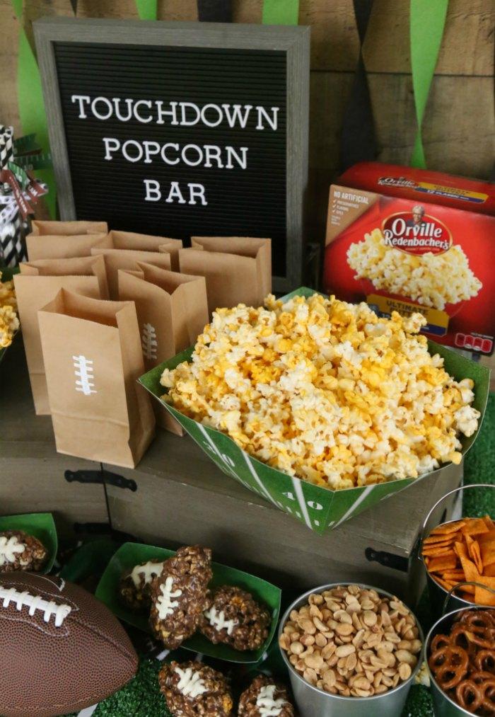 Touchdown Popcorn Bar