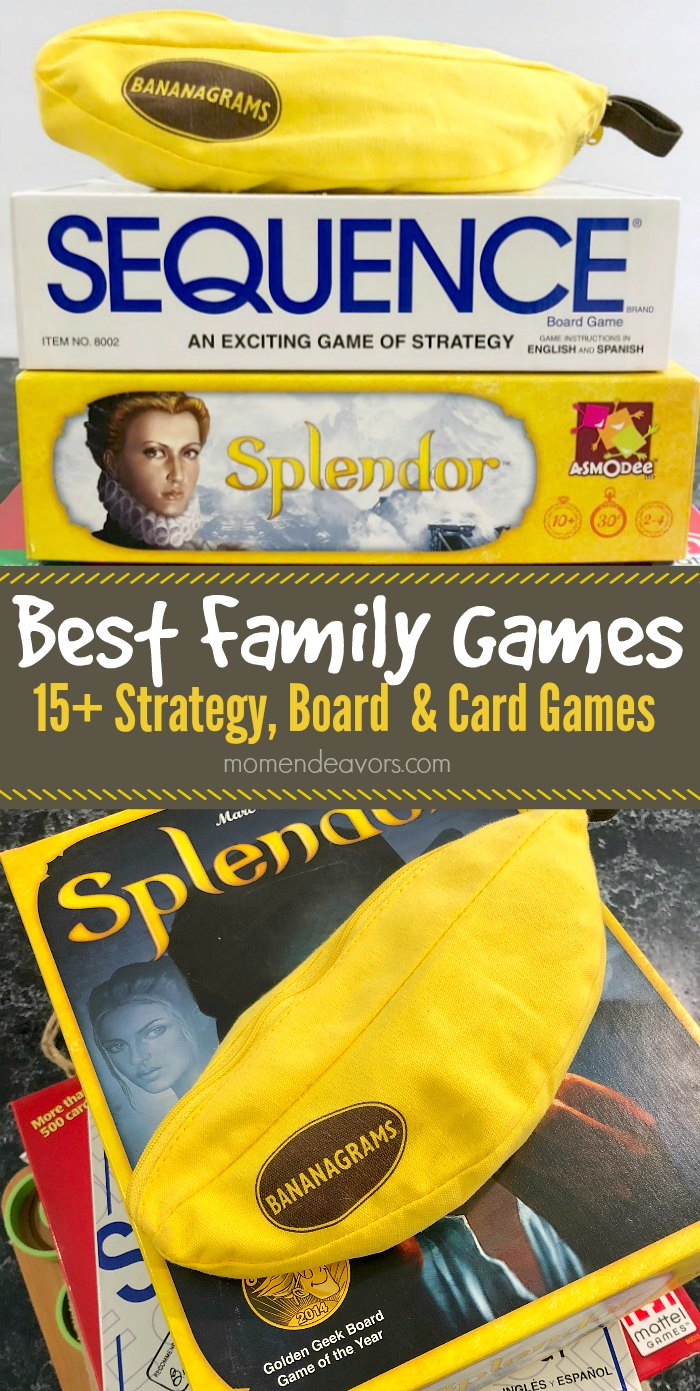 Best Family Games for Game Night