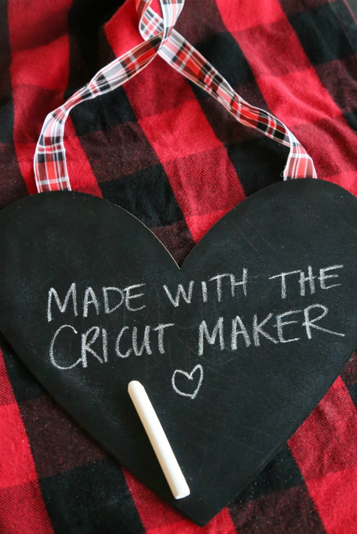 Cricut Maker Chalkboard Project