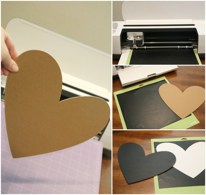 Making a chalkboard heart