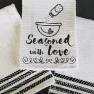Seasoned With Love DIY Kitchen Towel