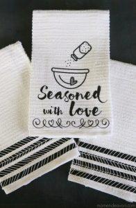 Black & White Kitchen Towels