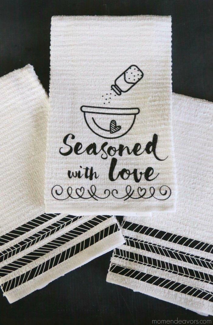 Black & White Kitchen Towels