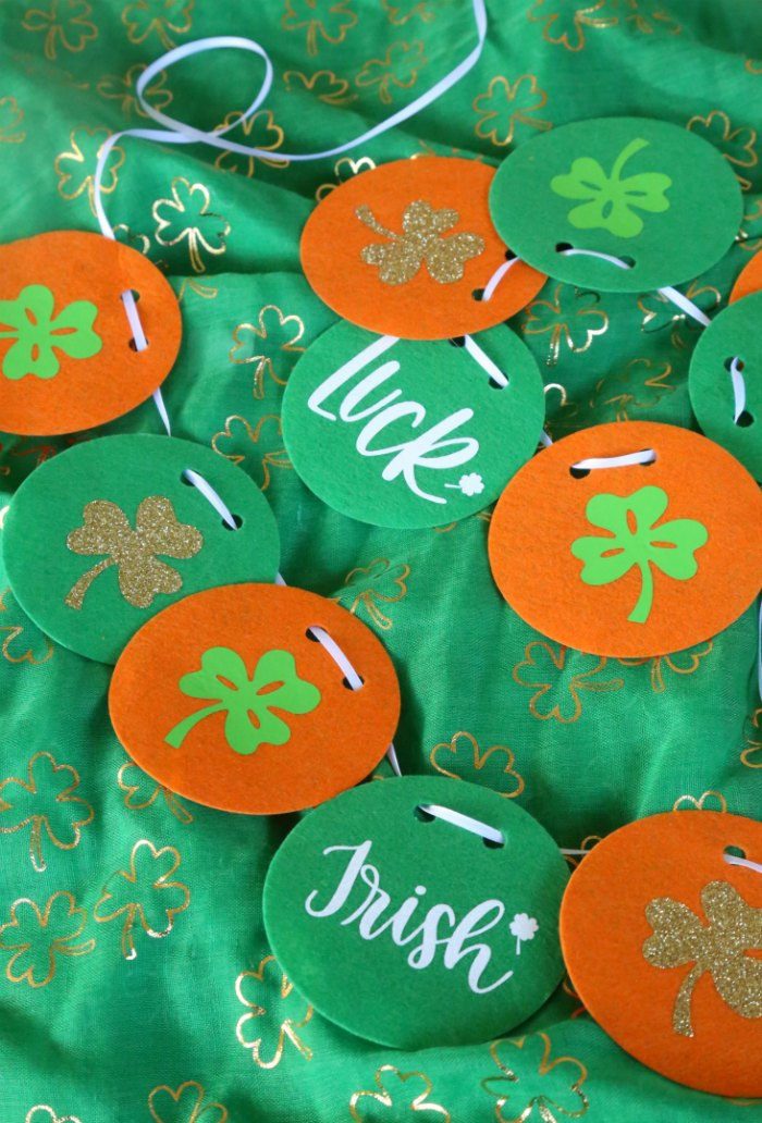 DIY St. Paddy's Garland
