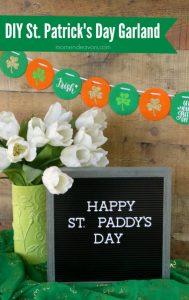 DIY St. Patrick's Day Garland