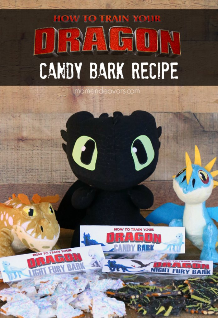 How to Train Your Dragon Candy Bark Recipes