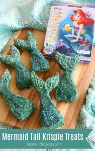Mermaid Tail Krispie Treats