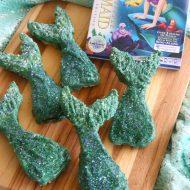 Mermaid Tail Krispie Treats