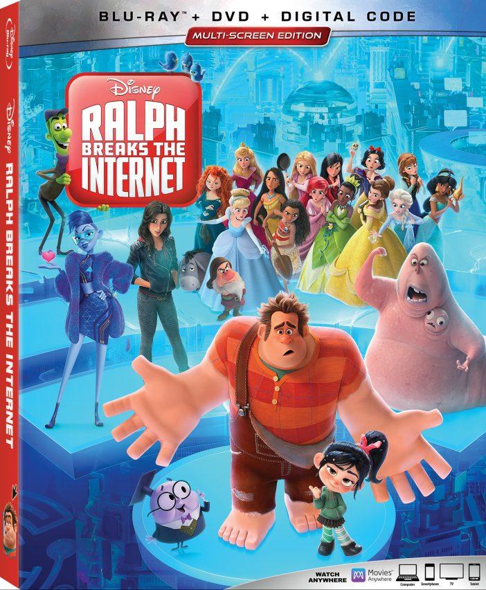Ralph Breaks The Internet Bluray