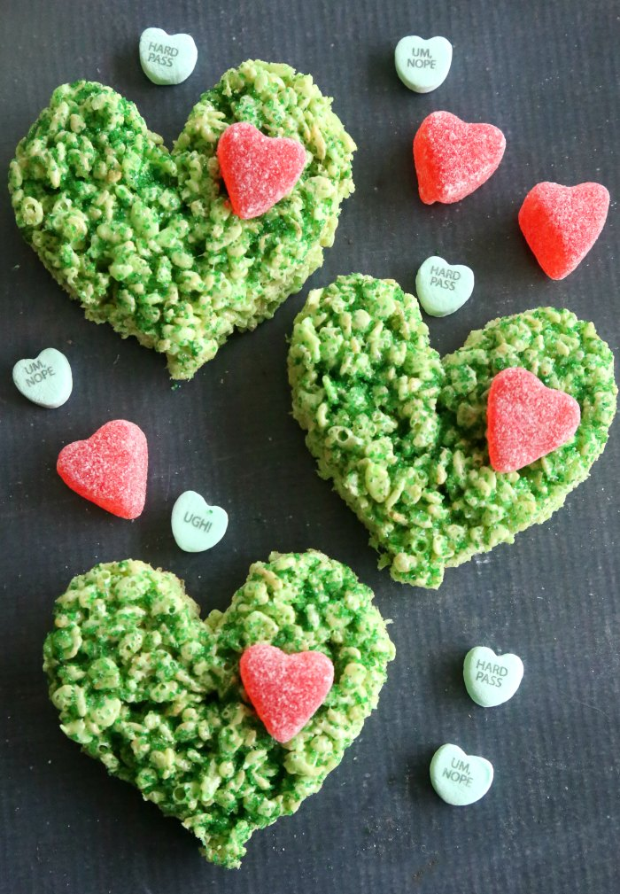 The Grinch Krispie Treats