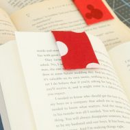 How to Make Fabric Magnetic Bookmarks