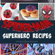 Spider-Man Superhero Recipes (+ Giveaway!!!)