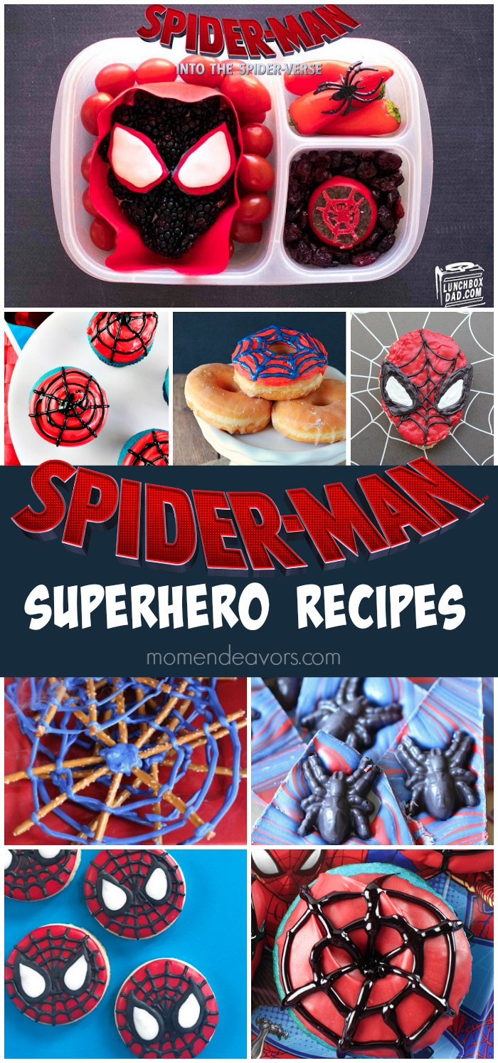 SpiderMan Recipes