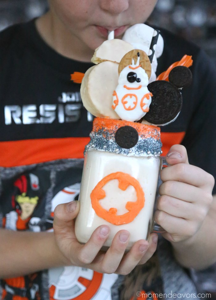 BB-8 Inspired Star Wars FreakShake