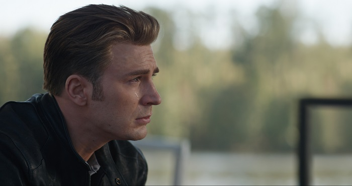 Captain America Crying
