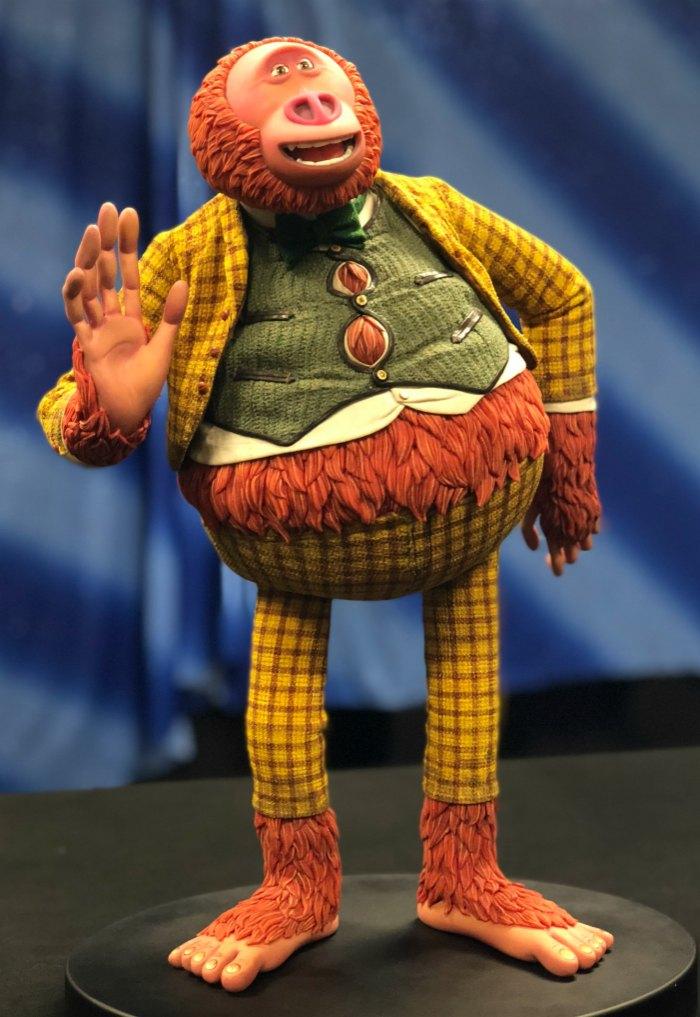 LAIKA Studios Missing Link Puppet
