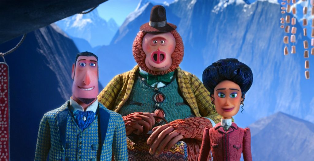 Missing Link Main Characters