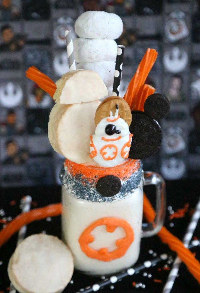 Star Wars BB-8 Freakshake Recipe