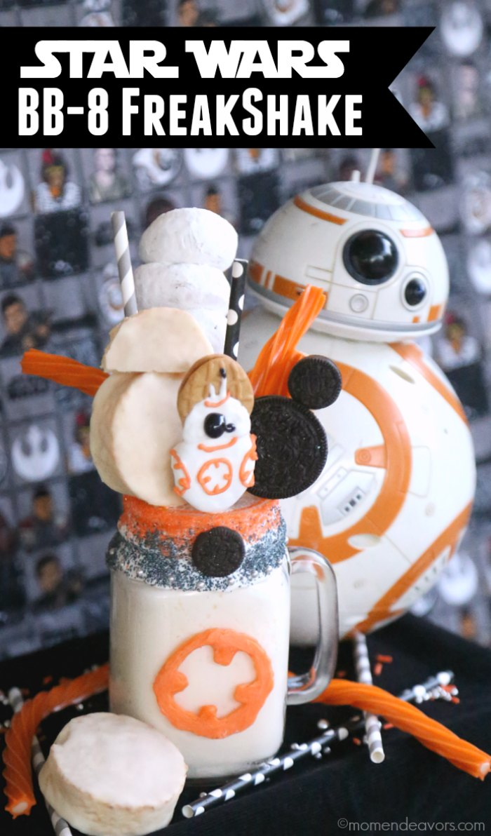Star Wars BB8 Freakshake