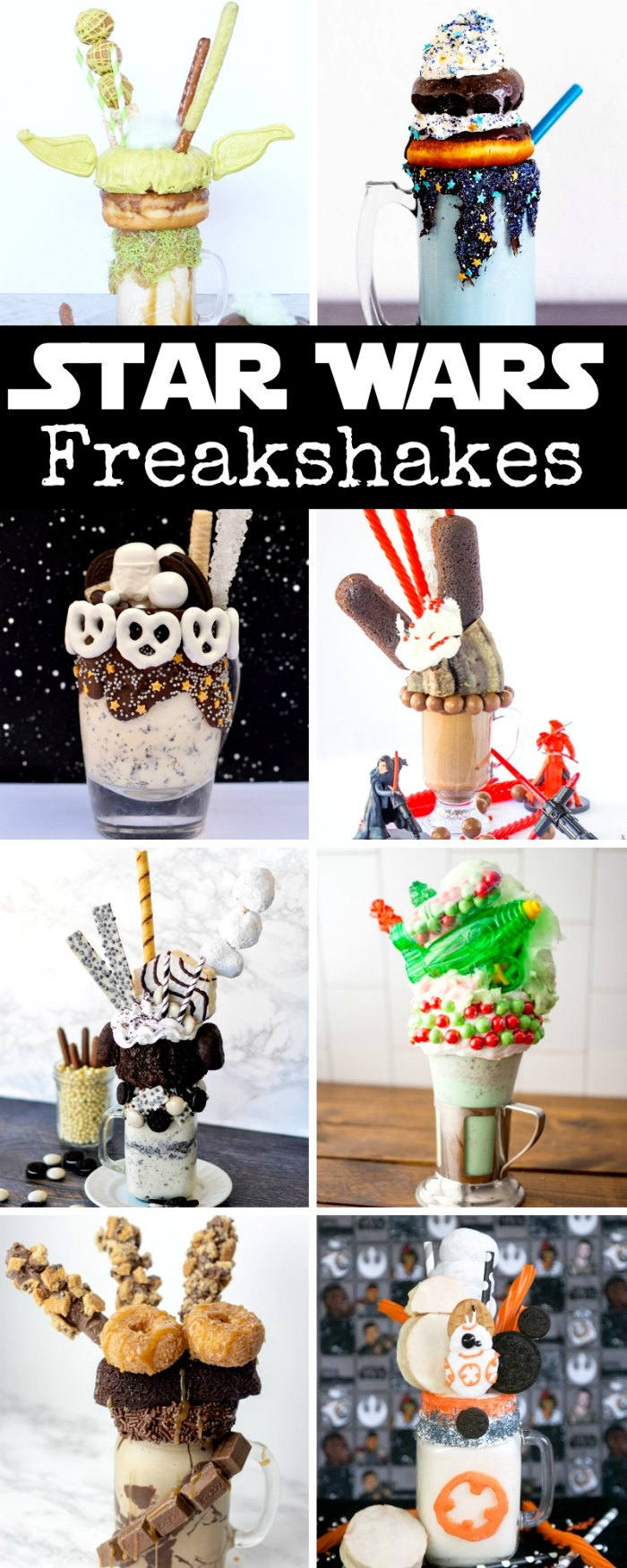 Star Wars Freakshakes