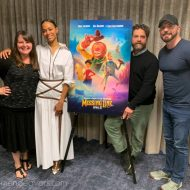 Missing Link Movie Interview with Zoe Saldana, Zach Galifianakis, and Director Chris Butler