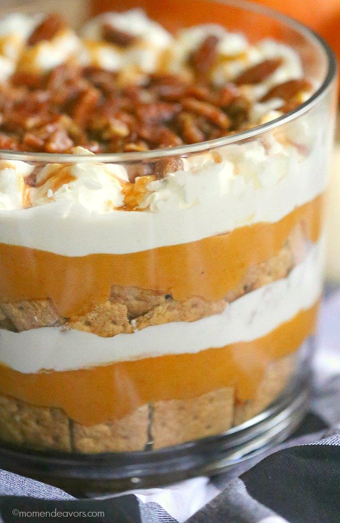 Creamy Pumpkin Spice Trifle