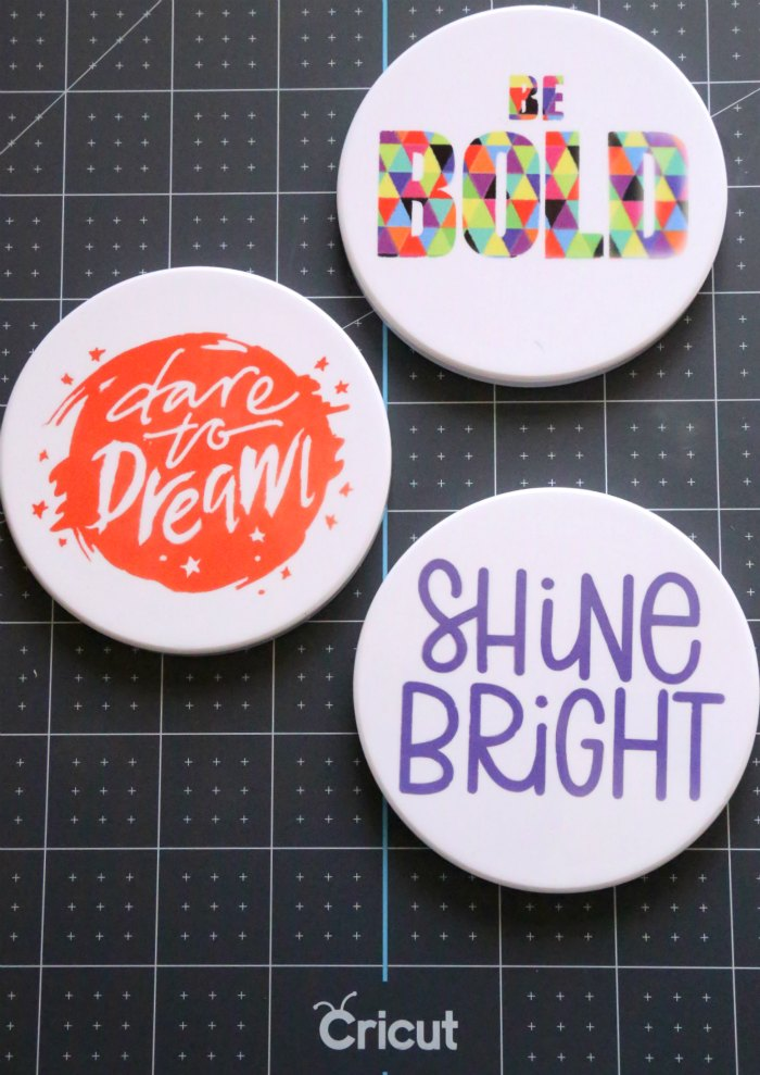 DIY Infusible Ink Coasters