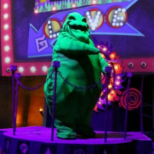 Oogie Boogie Character at Oogie Boogie Bash