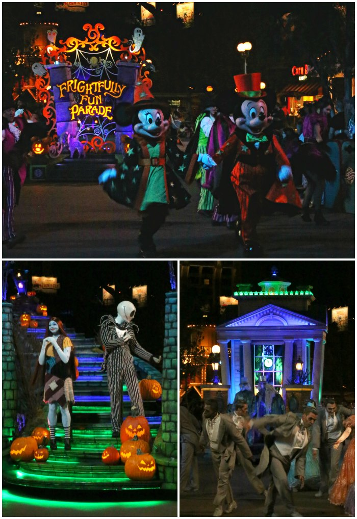 Frightfully Fun Parade Disneyland