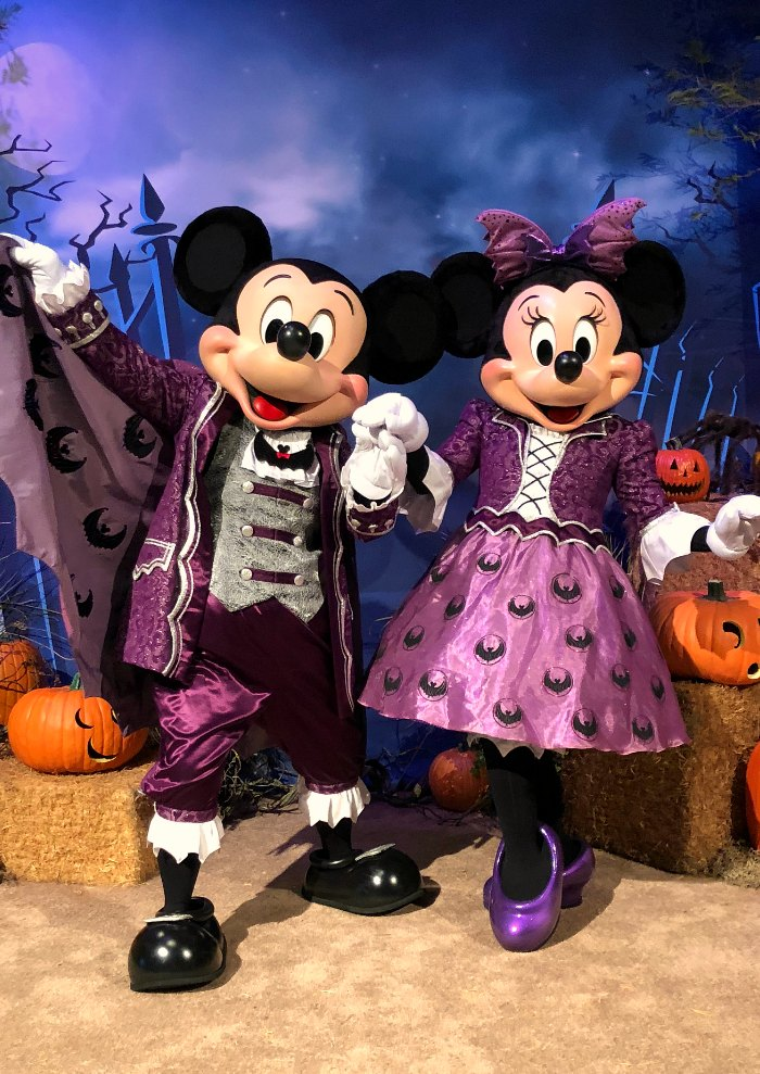 Halloween Mickey & Minnie