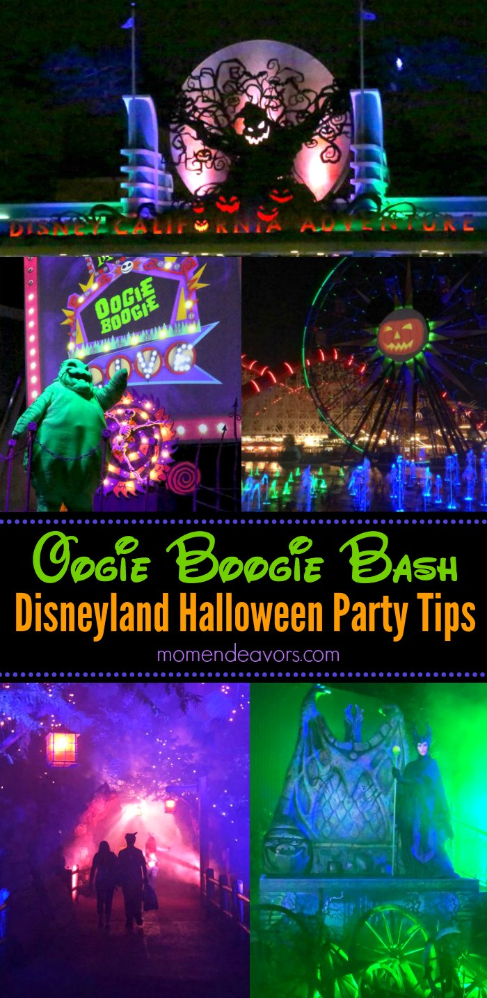 Oogie Boogie Bash Disneyland Halloween Party Tips Photo Collage