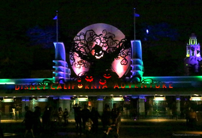 Oogie Boogie at Night California Adventure