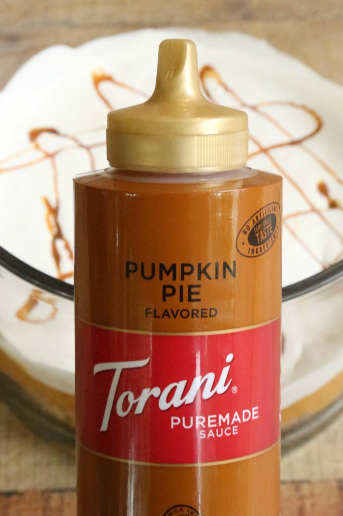 Torani Pumpkin Pie Sauce Bottle