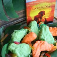 Lion King Grub Krispie Treats