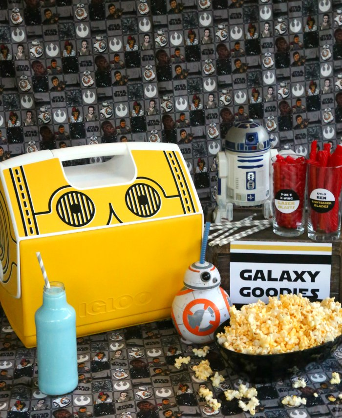Star Wars Movie Night Snacks