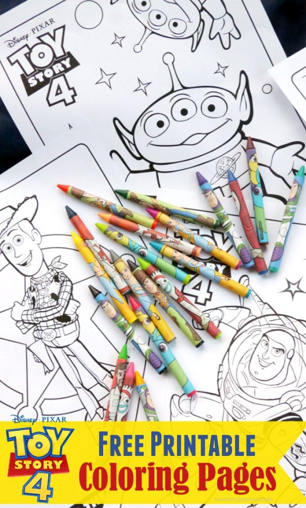 Toy Story 4 Free Printable Coloring Pages Mom Endeavors
