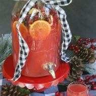 Easy Cranberry Orange Holiday Punch