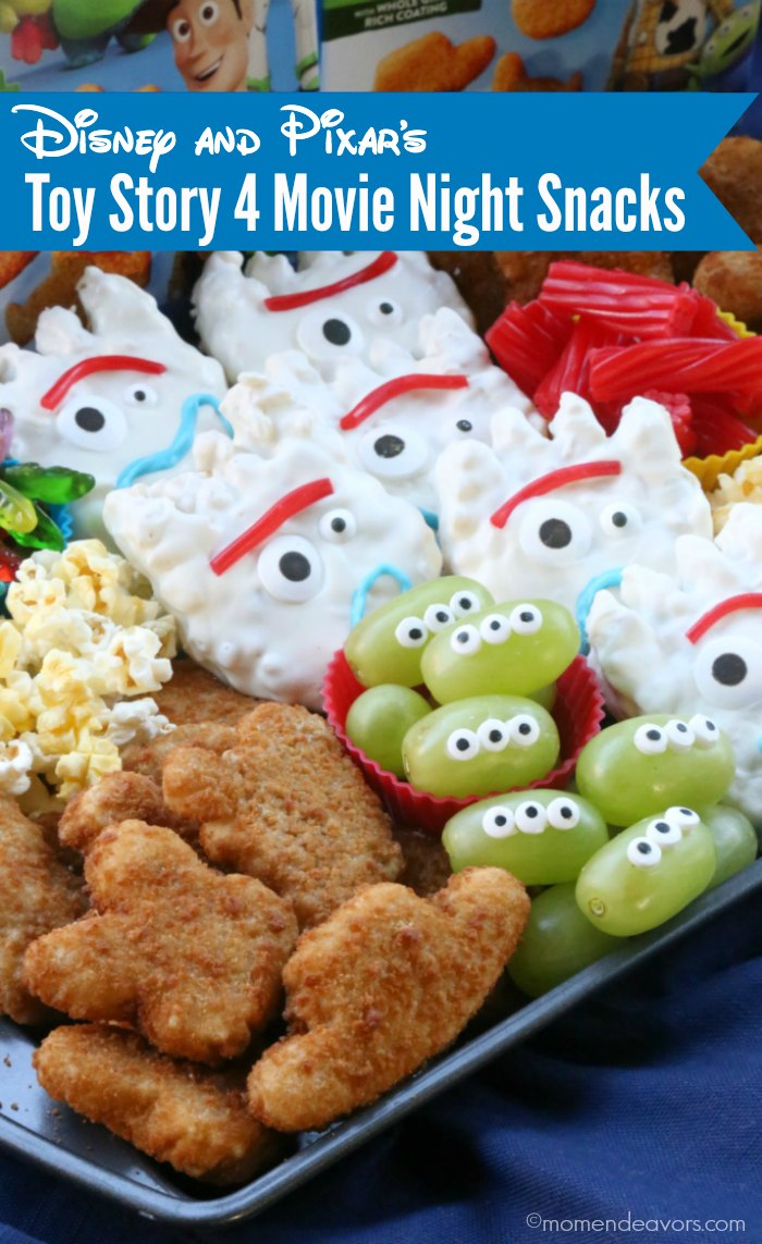 Disney And Pixar S Toy Story 4 Movie Night Snack Board Mom Endeavors