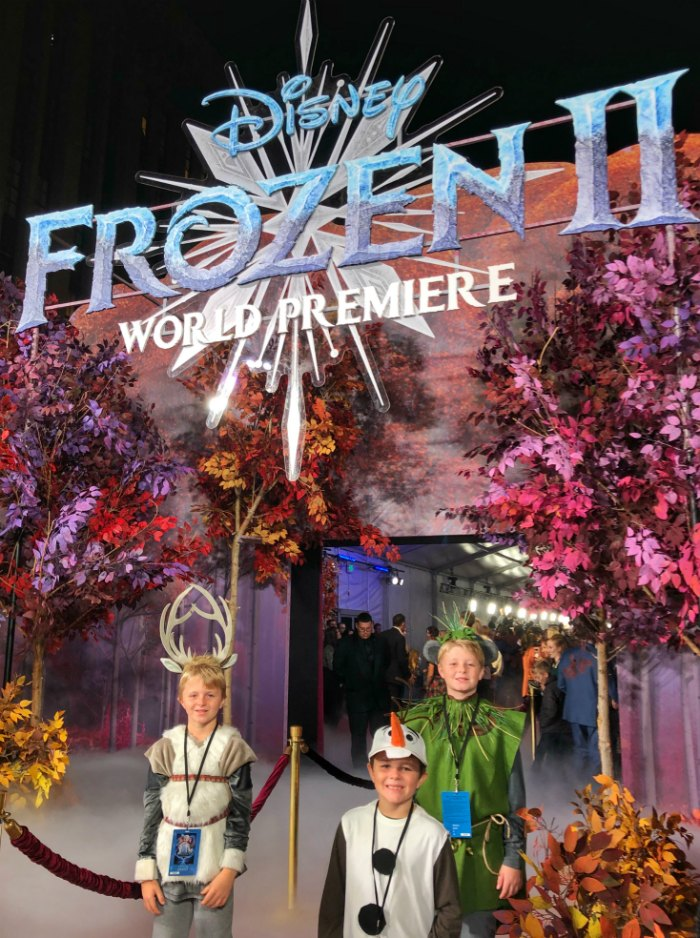 Frozen 2 Premiere Entrance