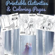 Disney FROZEN 2 Printable Activities & Coloring Pages
