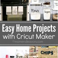 Easy Home Projects with Cricut Maker