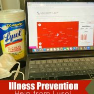 Illness Prevention Help from Lysol