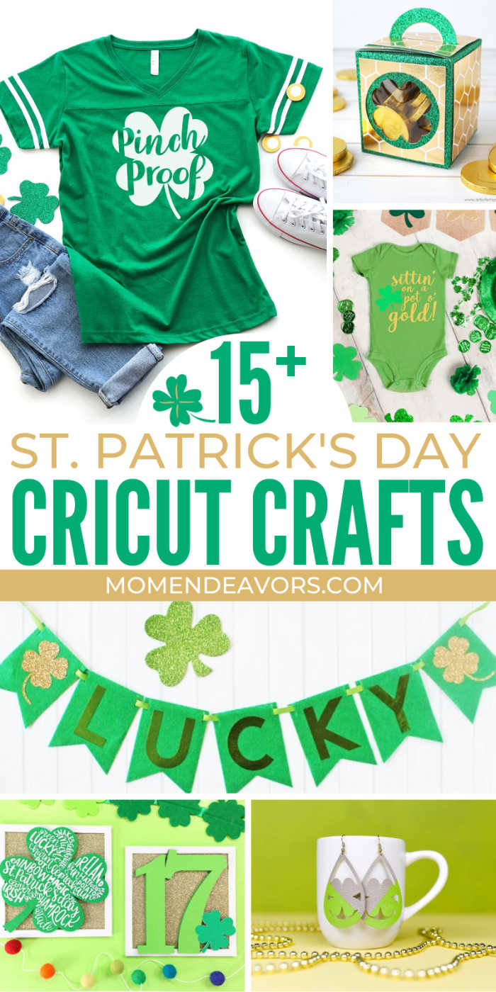 Cricut Craft Projects for St. Patrick's Day