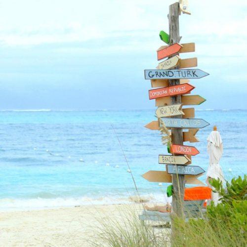 Caribbean Beach Sign